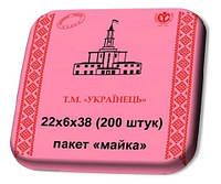 """Пакет майка 22Х38 Т.М.""""Українець"""" (200шт./уп., 25уп./меш.)"""