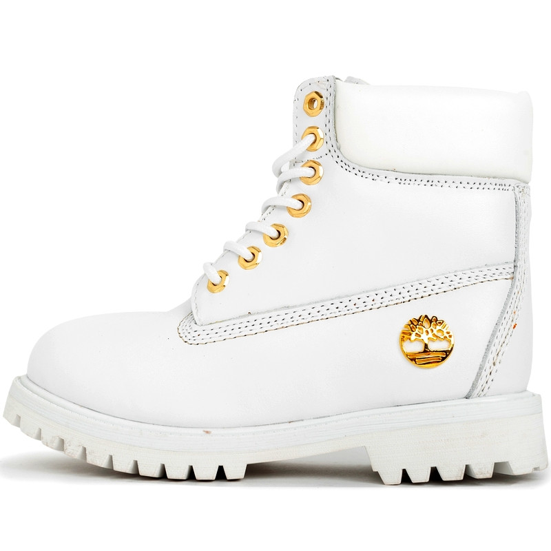 9520589f Ботинки женские Timberland Classic Boots (белые) на МЕХУ! Top replic - BE  SMILE