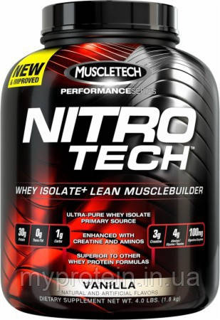 Протеин комплексный Нитро Теч Перфоменс Nitro Tech Performance (907 g )