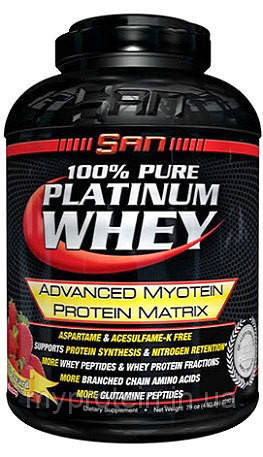 Протеин сывороточный 100% Pure Platinum Whey (2,25 kg )