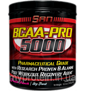 SAN Бца BCAA pro 5000 aspartame free (340 g )