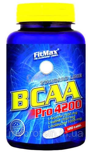 Бца BCAA Pro 4200 (120 tab)
