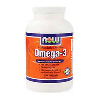 NOW Омега 3 Omega-3 (500 softgels)