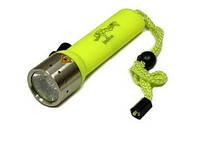 Подводный   LED фонарик  F2-3W (50 метров)