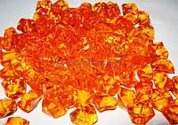 Лед искусственный оранжевый 400 гр.