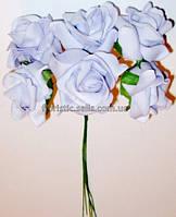 Латексные розы 5см сиреневые