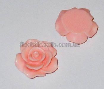 Розочка Fimo 3 см персиковая