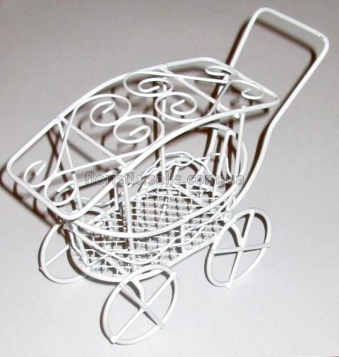 Кошик металева Ретро-коляска
