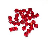 """Бусины """"кристалл"""" красные"""