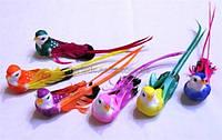 Птички декоративные с хвостиком