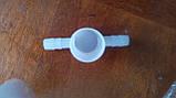 Трійник для переходу з 25 труби на 10 шланг для напувалок ніпельного, фото 7