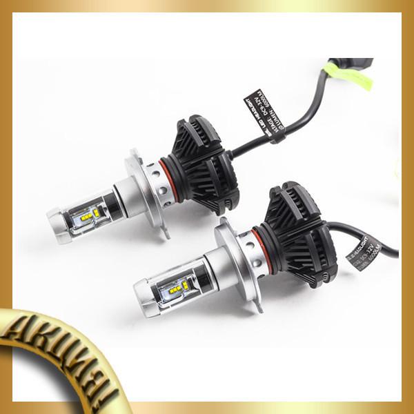 светодиодные лампы для автомобиля Led X3 H4акция в категории