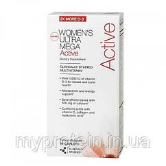 Женские витамины и минералы Womens Ultra Mega Active (90 cap)