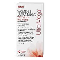 GNC Витамины и минералы для женщин Women`s Ultra Mega (180 caps)
