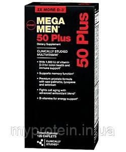 GNC Витамины и минералы для мужчин Mega Men 50 Plus (120 caps)