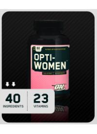 """Витамины и минералы для женщин Опти-вумен Opti-Women (120 tabs) -  Интернет - магазин """"MyProtein"""" в Ржищеве"""
