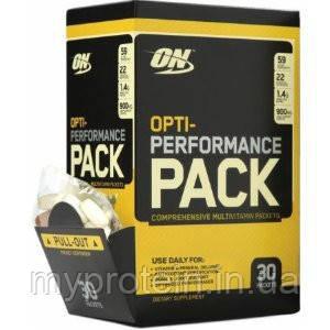 Витамины и минералы Opti- Performance PACK (30 packets)