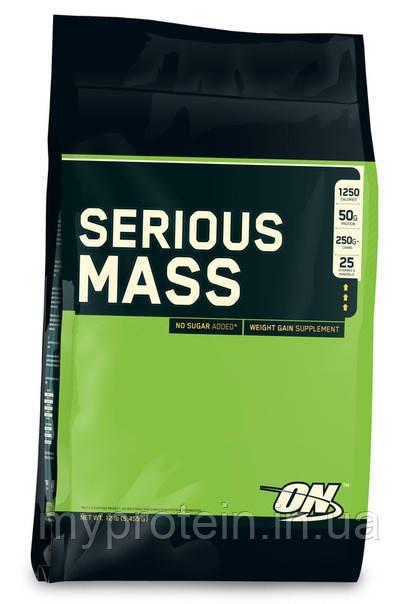 Optimum Nutrition Гейнер  Сириус Масс Serious Mass (5,4 kg )