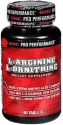 Аминокислоты аргинин L-Arginine L-Ornithine (60 tab)