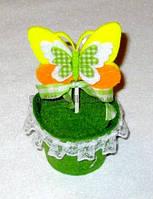 "Визитница ""желтая бабочка"""