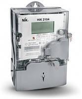 Счётчик электроэнергии НІК2104-02.40ТВ (5-60)А 220В с PLC-модулем, с одним измерительным элементом