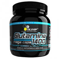 Глютамин L-Glutamine Mega Caps 1400 (300 caps)