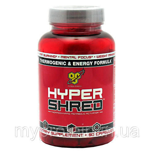 BSN Жиросжигатель Hyper Shred (90 caps)