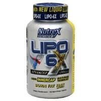 Nutrex Жиросжигатель Lipo 6X - 240 caps (exp 12/16)