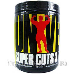 Universal Жиросжигатель Super Cuts 3 (130 tabs)