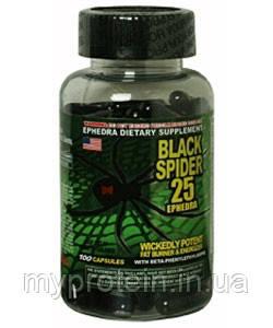 Cloma Pharma Жиросжигатель Черная Вдова Черный паук Black Spider (100 caps)