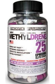 Cloma Pharm Жиросжигатель Метилдрен елит белый Methyldrene White Elite (100 caps)