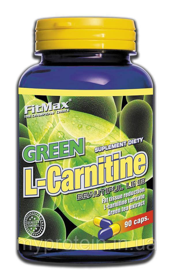 FitMax Фит Макс Л-карнитин Green L-Carnitine (90 caps)