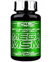 Для Суставов и Связок Mega MSM (100 caps)