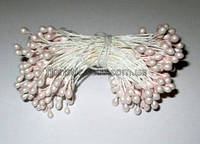 Тычинки глянцевые бл. розовые 5,5 см
