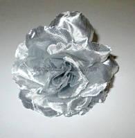 Головка розы серебристая 7,5 см