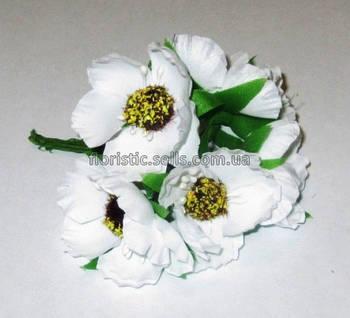Анемоны белые 4,5 см
