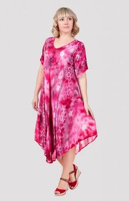 Платье женское яркое
