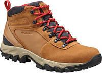 Мужские ботинки Columbia Newton Ridge Plus II Suede Waterproof Boot  Elk Mountain Red 394f6fd8ac2e9