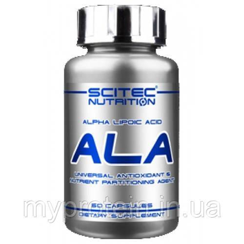 Альфа липоевая кислота ALA (50 caps)