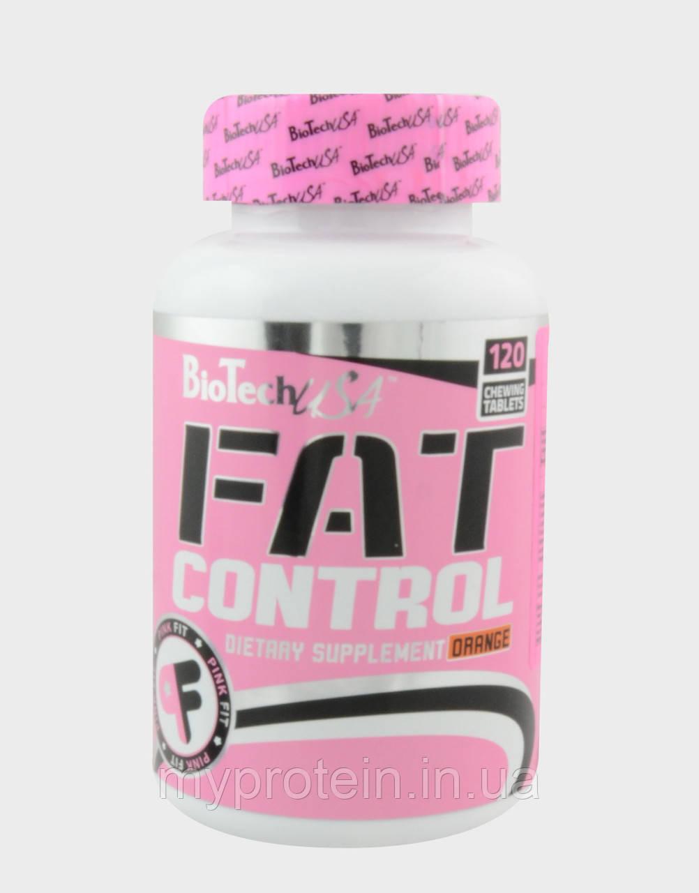 Жиросжигатель Fat Control (120 tabs orange)