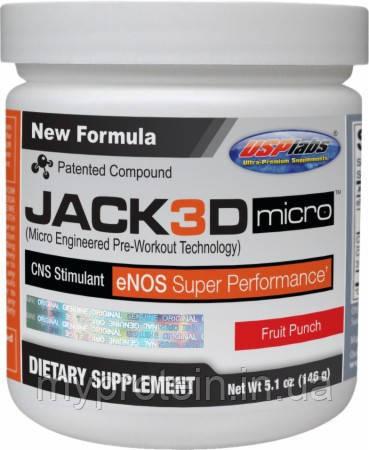 Предтреник Jack 3D  NEW! (230 g ) Срок годности до 28.03.18.