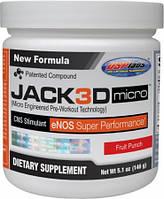 Предтреник Jack 3D  NEW! (230 g )