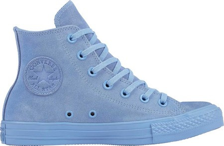 Женские кроссовки Converse Chuck Taylor All Star Hi Mono Suede Sneaker Light  Blue Light Blue 18d0a6c9602c1