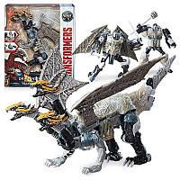 Трансформер Лидер Драгоншторм (Transformers The Last Knight Leader Class Dragonstorm, Hasbro, Оригинал из США