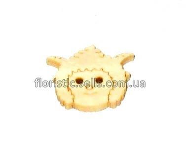 Козлик пуговица 1,8 см