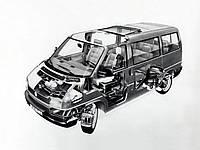 передняя подвеска т4 фольксваген транспортер