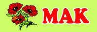 """Табличка на дверь для группы """"Мак"""""""