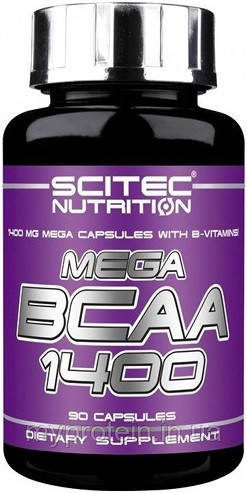 Scitec Nutrition Бца Mega BCAA 1400 (90 caps)