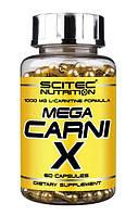 Scitec Nutrition Л-карнитин Mega Carni X (60 caps)