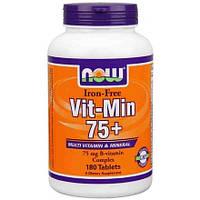 Витамины и минералы Vit-Min 75+ iron-free (90 tab)